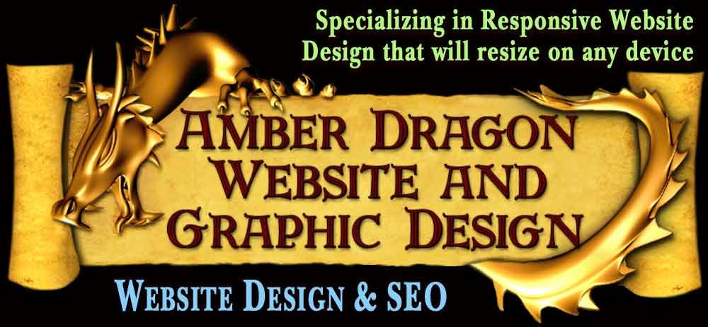 Amber Dragon Website and Graphic Design